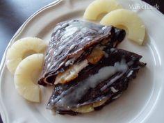Čokoládové palacinky (fotorecept)