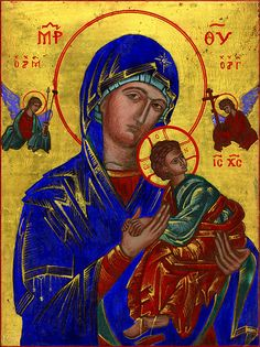 Christmas 2004: Theotokos of the Passion