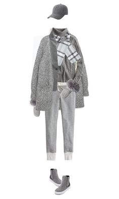 """""""winter knits"""" by maura717 ❤ liked on Polyvore featuring Zara, J.Crew, Accessorize, Surell, WithChic and Keds"""