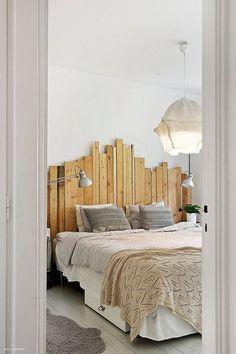 Maak je eigen hoofdbord van hout: mooi en simpel!