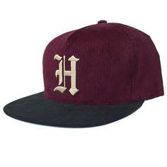 Huf Victor Snapback Hat (Wine) $35.95