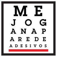 Teste de Visao. www.mejoganaparede.com.br