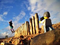 U.K. photographer Andrew Whyte took pictures of a tiny Lego man taking pictures every day for a year on his iPhone, and they're all tiny treasures.