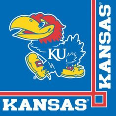 """Creative Converting Kansas Jayhawks Beverage Napkins (20 Count) by Creative Converting. $5.99. Measures 5 x 5"""". 20 count. See Creative Converting's coordinating line of party favors and dinnerware - inflatable fingers, wrist bands, head bands, pom poms, cheer sticks, cups, plates, napkins, chip trays and décor. Collegiate NCAA team logo beverage napkins. The perfect supplies for your tailgating, Bowl game or sports themed party - show your team spirit and pride. From th..."""