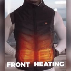 (Last day promotion-50% OFF) Unisex Warming Heated Vest – iGo Store Body Warmer, Neck Warmer, Heated Jacket, Winter Sports, Xmas Gifts, Countertop Paint, Promotion, Vest, Things To Sell