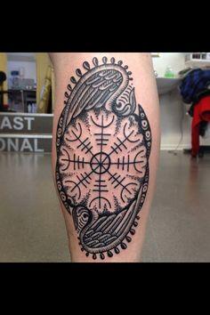 Aegishjalmur Tattoo Art