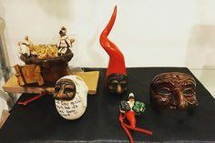 #pulcinella #corno #scaramanzia #terracotta #artigianato #tradizione #artchiajaoriginalhandmade