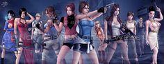 Resident Evil Alexia Ashford vs Wesker | ladies of evil by Jaja316 on deviantART