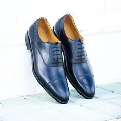 Feeling blue! Derby Shoes, Cobbler, Leather Shoes, Men's Shoes, Oxford Shoes, Lace Up, Loafers, Footwear, Mens Fashion