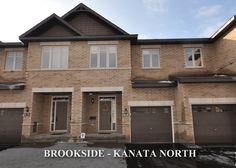 Brookside - Kanata North Townhouse for sale:  3 bedroom, 3 Bathroom Hardwood Floors with Finished Basement