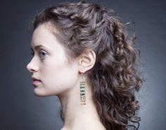 Earrings: Demimonde  Model: Inanna Hencke  Photography: Mikola Accuardi