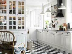 Resultado de imagen para cocinas rusticas blancas