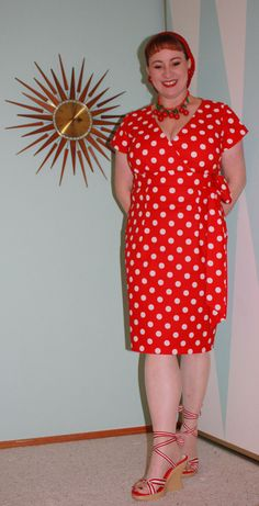 The Variety store dress meets a mouse   Loran's World  Simplicity 2549