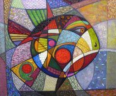 живописные картины с геометрическими фигурами в форме цветов: 9 тыс изображений найдено в Яндекс.Картинках