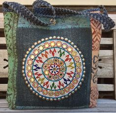 Patchwork shopper/handbag by KussenvanPaula on Etsy