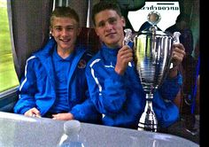 Tournament in France with reading fc me and josh