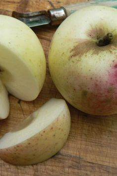 Sweet Coppin Apple. Late season apple best known for making cider, but is great when eaten fresh.