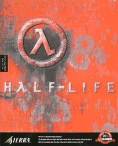 Half-Life box art #valve #video #games - changed my life in 1999.  Thank goodness for DSL and mult-iplayer mode.