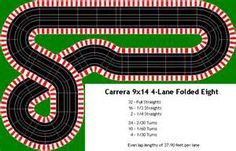 Track Plans for Carrera
