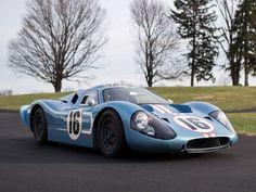 De 1967, el Ford GT Mk IV Continuation.