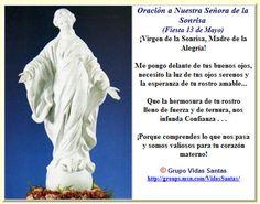 Nuestra Señora de La Sonrisa – Historia http://www.yoespiritual.com/noticias-espirituales/nuestra-senora-de-la-sonrisa-historia.html