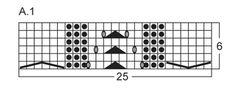 """Sættet består af: Strikket stort og lille DROPS betræk til glasvase i """"Merino Extra Fine"""" med snoninger og hulmønster ~ DROPS Design"""