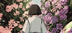 Anime Computer Wallpaper, Wallpaper Pc, Film Aesthetic, Aesthetic Anime, Totoro, Baby Pink Aesthetic, Anime Gifs, Studio Ghibli Art, Japanese Gif