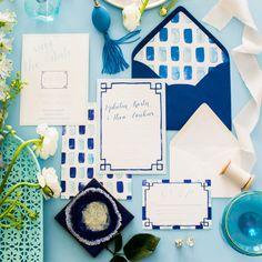 Miss Santorini Wedding Invitation Suite Designed by Simply Jessica Marie   Zipporah Photography