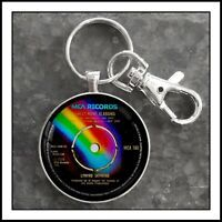 RCA Victor Phonograph Sign Photo Keychain Victrola   Vinyl Record Player Photo