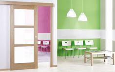 DVEŘE: Posuvné dveře do pouzrda, nástěnný systém | SIKO Divider, Loft, Bed, Furniture, Home Decor, Decoration Home, Stream Bed, Room Decor, Lofts