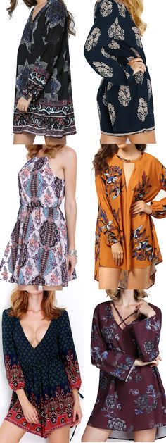 Boho dress get more popular in the young.Which one is your style? Click romwe.com now, get 60% off 1st order!