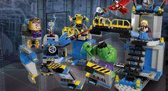 JAMES --- 76018 Hulk Lab Smash
