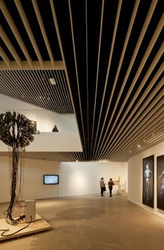 louvered metal ceilings - Google Search