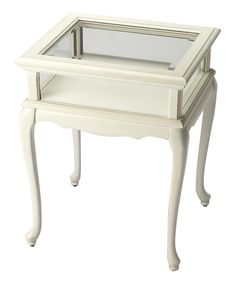 Another great find on #zulily! Butler Specialty Company Cottage White Curio Table by Butler Specialty Company #zulilyfinds