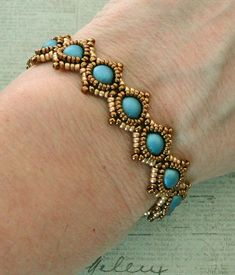 Linda's Crafty Inspirations: Bracelet of the Day: SimplElegance Bracelet