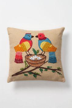 Tufted Nest Pillow - Anthropologie.com