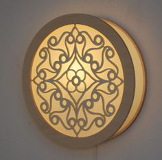 lamp laser cut mandala file - Google Search