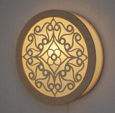 lamp laser cut mandala file - Google Search