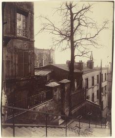 1900........MONTMARTRE.......PHOTO DE EUGÈNE ATGET..............