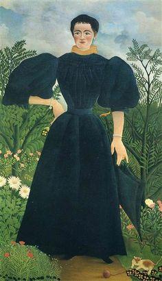 ROUSSEAU. Retrato de una mujer. 1895.