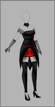 Outfit design - 108 - closed by LotusLumino on DeviantArt
