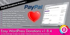 Easy WordPress Donations v1.1 – CodeCanyon