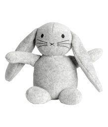 Velour Soft Toy | Light gray melange | KIDS | H&M US