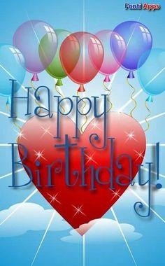 Happy Birthday Logo, Happy Birthday Ballons, Happy Birthday Greetings Friends, Happy Birthday Wishes Photos, Happy Birthday Wishes Cards, Cool Birthday Cards, Birthday Card Sayings, Happy Birthday Friend, Birthday Quotes