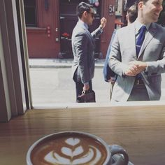 Men in suits and coffee time#coffee by susannapage