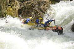 """Centro rafting """"Le Marmore"""" nel Papigno, Umbria"""