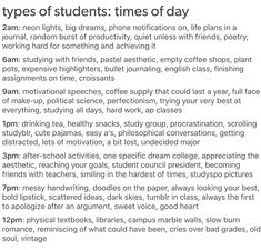 I am none of these...but then again i do hate being in school