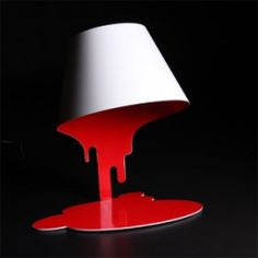 Bloody lamp...