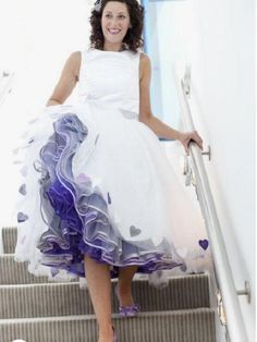 How To Dress For A Wedding, Unconventional Wedding Dress, Wedding Dresses With Straps, Country Wedding Dresses, Princess Wedding Dresses, Colored Wedding Dresses, Elegant Wedding Dress, Elegant Dresses, Vintage Dresses