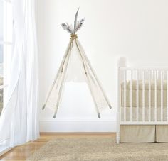 Large Boho Teepee Wall Decal by GingerMonkey0 on Etsy